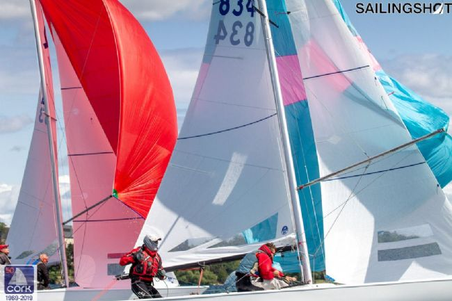 USA 834 Paul McGuan, Mark Keast and Ashley Henderson<br />@ Luka Bartulovic Sailing Shot